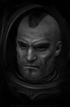 Night lord: Malek - sketch by d1sarmon1a on DeviantArt