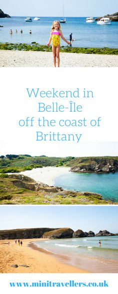 "Weekend in Belle-Île off the coast of Brittany http://minitravellers.co.uk/weekend-belle-ile-off-coast-brittany/ Belle-Île is 9 miles (15km) off the coast of the Gulf of Morbihan and is Brittany's largest island.  Belle-Île means quite literally a ""Beautiful Isle at Sea""  When the island naming committee met around the campfire a few centuries ago I suspect it was a very brief discussion.  ""We live on a beautiful island and it's in the sea . . . . . . .  I know let's just call it that!"".  I…"