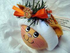 Etsy listing at https://www.etsy.com/listing/165213699/tabby-cat-ornament-christmas-hand