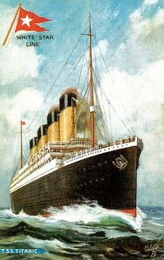 Ad for the White Star liner RMS Titanic