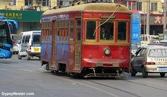 The wooden streetcars in Dalian, China!  See more: http://www.gypsynester.com/asia-cruise-2.htm