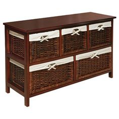 Bridgeport Storage Console - The Organized Closet with Laura Ashley on Joss and Main
