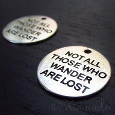 Lord Of The Ring Quote Charm Pendants C0617 - 5/10/20