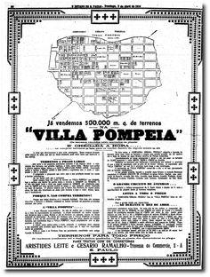 Pompeia, um loteamento que virou bairro - noticias - O Estado de S. Paulo - Acervo Estadão