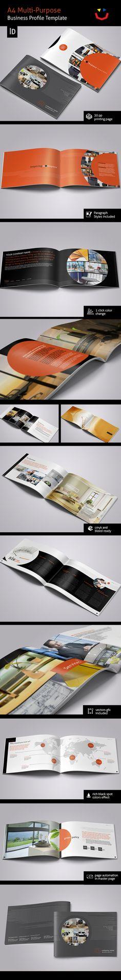 Interior Design Brochure by Jet Paul, via Behance