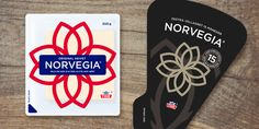 Norvegia cheese packaging design @tangramdesign