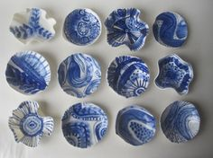 Handpainted Porcelain Trinket Dish