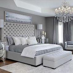 Modern Bedroom Carpet Ideas - Future Home - Bedroom Decor Grey Bedroom Design, Simple Bedroom Design, Bedroom Ideas Grey, Modern Grey Bedroom, Bedroom Sets, Bedroom Décor, Classy Bedroom Ideas, Bedroom Colors, Contemporary Bedroom