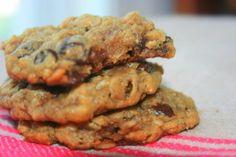 SkinnySkips: Flourless Peanut Butter Oatmeal Cookies