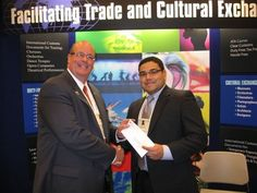 Ahmad Mayes (on right), Director of Operations & Artistic Administration, Youth Orchestras of San Antonio (2010)