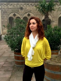 Artisara vegan PURENESS scarf made of bamboo with elegant shiny look. www.artisara.com