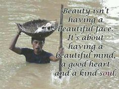 Beauty is in the eye of the beholder...