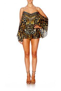 a81d871384 boutique flirt - Camilla Given To The Wild Drop Shoulder Playsuit