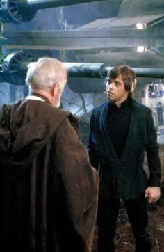 Obi-Wan Kenobi and Luke Skywalker - Star Wars