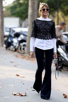 Неделя моды в Париже S/S 2015: street style. Часть I (фото 3)