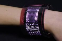 Wearable Flexible AMOLED Display Unveiled By Plastic Logic (video)