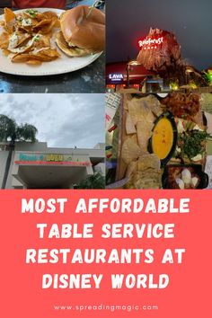 Food is often the biggest expense of a Disney World vacation so I am sharing the most affordable table service restaurants at Disney World  #Disney #DisneyWorld #DisneyDining #DisneyFood #DisneyRestaurants #DisneyOnABudget #DisneyVacation Disney World Deals, Disney World Facts, Disney World Vacation, Disney Cruise Line, Disney World Resorts, Disney Vacations, Walt Disney World, Dine In Theater, World Mobile