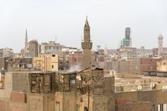 islamic cairo view above
