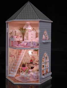 sweet dollhouse.