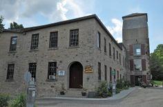 Caledon, Ontario: Alton Mill Art Studio Landscape Photos, Ontario, Multi Story Building, Mansions, Studio, House Styles, Image, Beautiful, Home Decor