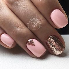 42 Perfect Winter Nails for the Holiday Season and more ★ Cute Winter Nails in Pink Shades Picture 4 ★ See more: http://glaminati.com/perfect-winter-nails-holiday-season/ #winternails #naildesign