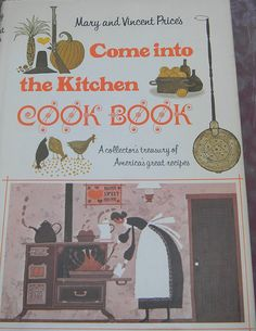 Vintage Cookbook Come into the kitchen Mary by DahliaDivaDesigns, $25.00