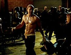 Pin for Later: The Hands-Down Hottest Jax Teller Moments on Sons of Anarchy All muscles and sweat and smirks.