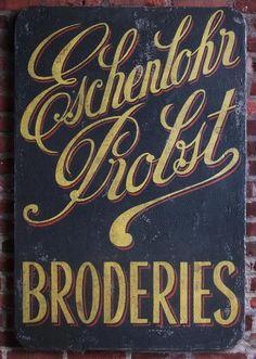 Eschenlohr Probst Broderies