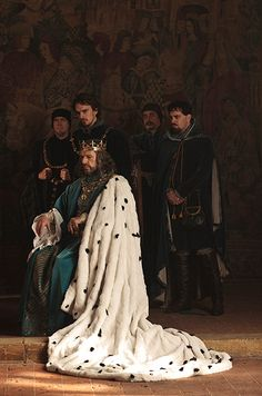 BBC2's The Hollow Crown, Lambert Wilson plays Charles VI of France