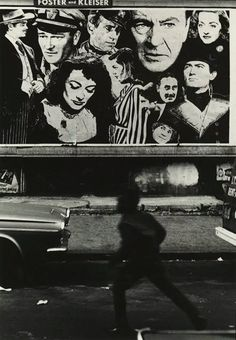 Louis Draper :: Boy and Movie Poster, Harlem, New York City, 1968