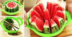 6Posturas que teayudarán aquedarte dormido alinstante Cut Watermelon Easy, Watermelon Cutter, Watermelon Slicer, Watermelon Fruit, Green Melon, Cantaloupe And Melon, Water Melon, Ham Wraps, Homemade Ham