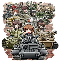 Great Works of Girls und Panzer Fan Art - Neatorama