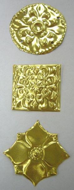 ArmourAndCastings.com Replica 14th Century European fede Brooch Enamel