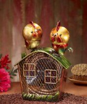 Deco Breeze Figurine Fan with Magnet Top, Rooster