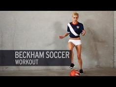The Beckham Soccer Workout - Soccer skills cardio Soccer Drills For Kids, Soccer Pro, Soccer Practice, Soccer Skills, Girls Soccer, Soccer Coaching, Soccer Tips, Soccer Training, Soccer Players