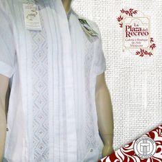 Guayabera 100% LINO, con diseños únicos y exclusivos hechos a mano por nuestra comunidad Maya, certificada y con alta calidad en nuestras prendas. Mas informes al tel: (999) 924 88 21. Visítanos...