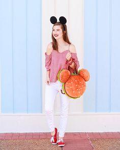 @styledbymagic   Minnie Style   Disney Outfit Ideas   Disney Shirts   Disney Style   Disneyland Outfits