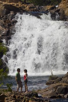 Edith Falls, or its Aboriginal name 'Leilyn', is a sacred area for the Indigenous community. Located deep within Nitmiluk National Park.   Photo: Peter Eve Tourism NT 7