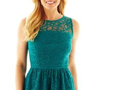 Studio 1® Lace Illusion Fit-and-Flare Dress ($49.99)