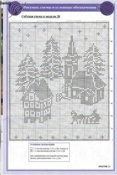 Gallery.ru / Foto # 123 - Filet Crochet convertidor Punto de Cruz 2 - Mongia