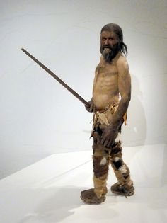 Otzi, a genetic cousin in my haplogroup K from 5000 yrs ago.