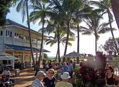 When you live on Kauai or visit the South Shore, be sure to include the Gourmet Farmer's Market at Shops at Kukui`ula. Sample freshly grown food and local products, relax with your favorite beverage to island sounds, and be inspired by the weekly chef talk. Every Wednesday from 4-6pm.