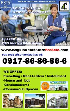 Baguio Real Estate For Sale offers prime and affordable properties to live in. Abundant options can be found in www.BaguioRealEstateForSale.com