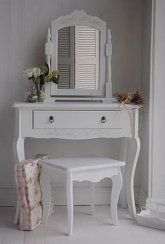 Daisy white dressing table £140. The whitelighthousefurniture website