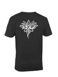 """Lotus Flower Tee Shirt """"Be like a lotus. Let the beauty of your heart speak. Be grateful to the mud, water, air and the light."""" ― Amit Ray, Nonviolence: The Transforming Power White Lotus Flower, Funky Outfits, Custom Printed Shirts, Mask Shop, Print Store, Country Girls, Knitting Projects, Sewing Hacks, Mud"""
