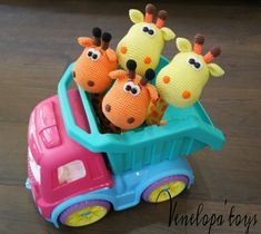 Patrón de ganchillo amigurumi ganchillo jirafa por VenelopaTOYS