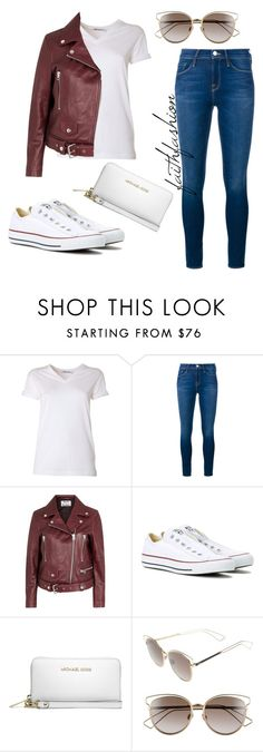 """Untitled #295"" by faithfashionash on Polyvore featuring T By Alexander Wang, Frame Denim, Acne Studios, Converse, MICHAEL Michael Kors and Christian Dior"