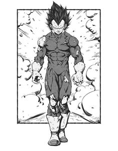 Vegeta And Trunks, Manga, Epic Characters, Anime One, Dragon Ball Gt, Simple Art, Foto E Video, Art Reference, Draw
