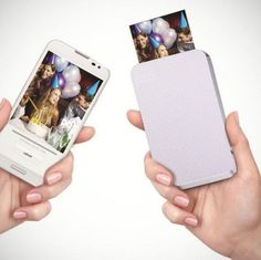 ZINK: Portable Zero Ink Printer Ever imagined printing photos without using ink but heat? Check out ZINK, a portable zero ink printer which prints photos directly from your smartphone!