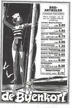 Advertisement De Bijenkorf, 1929.